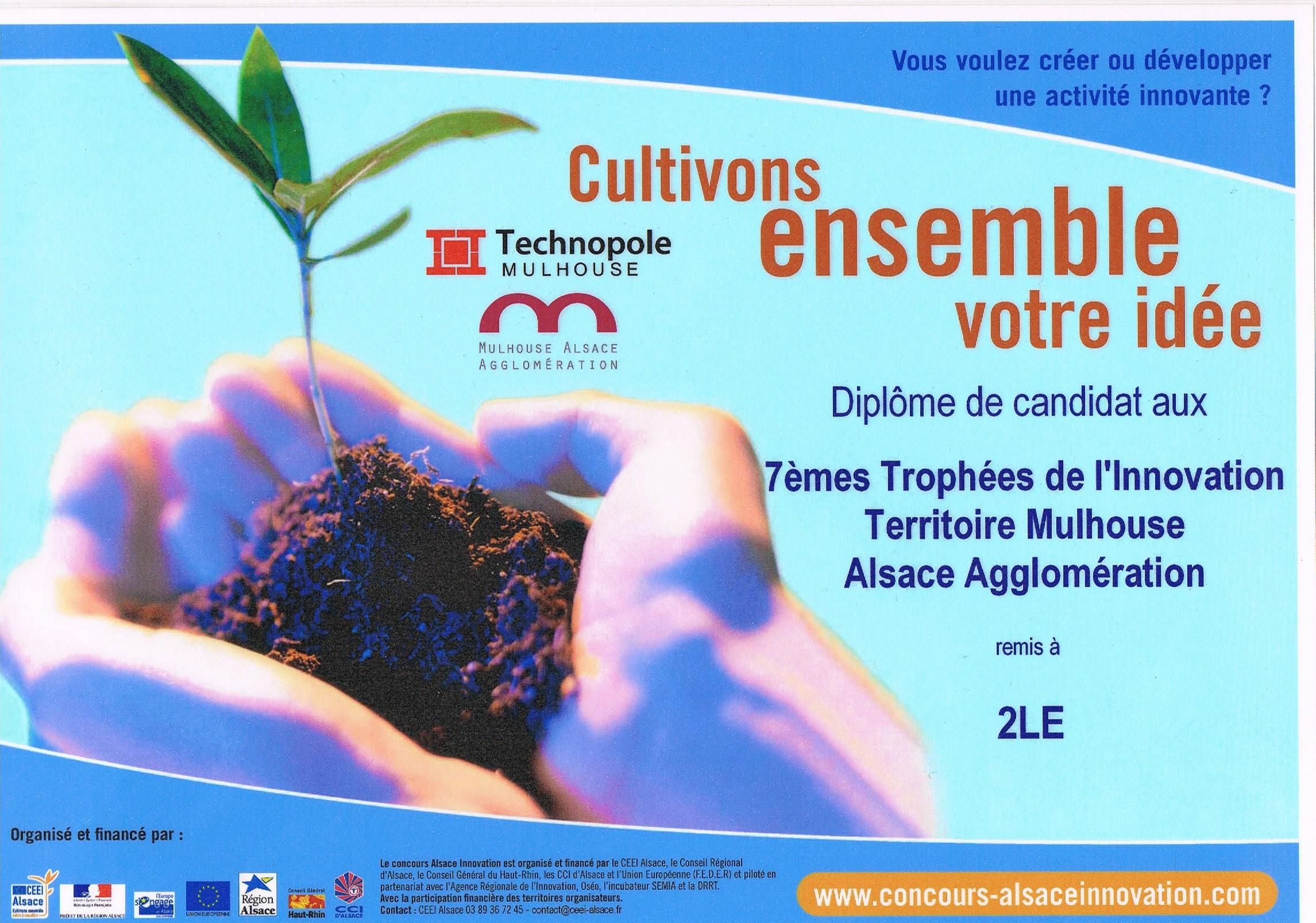 Amapy lauréat du Concours Alsace Innovation